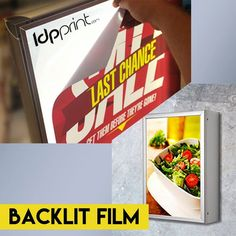 Backlit Film!  We have only the best for you!  1-800-418-8157  You can also order online! www.ldpprint.com  #Adhesive #Wall #Vinyl #Low #Tack #Banner #GrandFormat #LargeFormat #FoamCore #Change #USA #Branding #Yard #Signs #Print #Printing #Colors #ManyColors #Diseño #Amazing #YardSigns #Awesome #New #Grande #Location #MoreForYou #Design #Big #Work