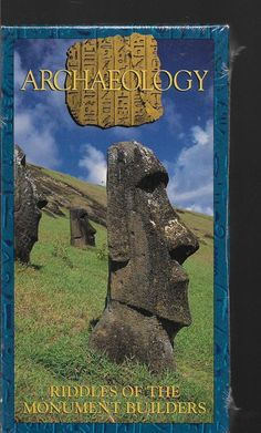 Archaeology- Riddles of the Monument Builders NEW