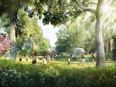 Foster + Partners design for new West Kowloon Art Park