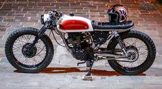 Honda CG 125 By Lucky Custom