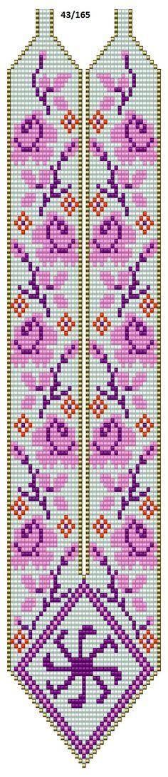 Стена Bead Loom Patterns, Jewelry Patterns, Bead Jewellery, Resin Jewelry, Cross Stitch Designs, Cross Stitch Patterns, Diy Bookmarks, Loom Bands, Tunisian Crochet