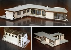 architectural models by Tony Richardson