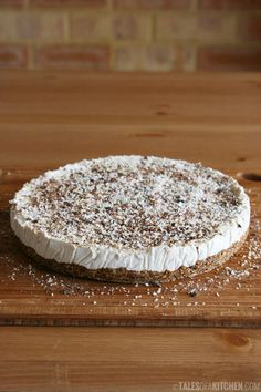 A light, tasty, and incredibly delicious coconut lemon pie by Tales of a Kitchen