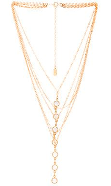 Haati Chai Layered Necklace in Gold