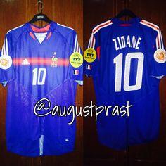 France Home Zidane France Jersey, Football, Sports, Tops, Shopping, Soccer, Hs Sports, Futbol, American Football