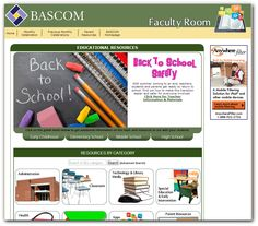 Back to School Safety Month - August 2014, BASCOM's Faculty Room offers resources for educators to help teach students about being safe in school and other monthly celebrations