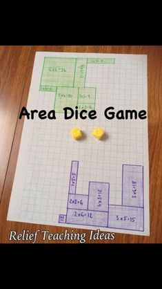 Practice finding area with this game! Mehr zur Mathematik und Lernen allgemein u… Practice finding area with this game! Mehr zur Mathematik und Lernen allgemein u…,Mathematikunterricht Practice finding area with this game! Maths Guidés, Math Classroom, Teaching Math, Math Math, Math Teacher, Multiplication Games, Year 3 Maths, Teaching Ideas, Maths Area