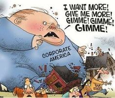 Shop small business stores and stop feeding the corporate greed.