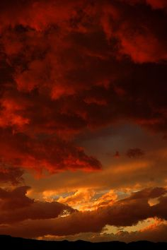 Red sky at night, sailor's delight. Red sky in morning, sailor take warning. All Nature, Amazing Nature, Beautiful Sky, Beautiful World, Pretty Pictures, Cool Photos, Sky Aesthetic, Sky And Clouds, Colorful Clouds