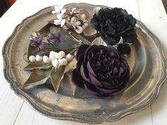 Flower Fabric, Silk Flowers, Handmade Flowers, Flower Making, Corsage, Artificial Flowers, Jars, Clutches, Crafting