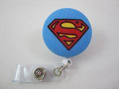 Superman Badge Reel  Man of Steel  Security by adrisadorables, $7.25