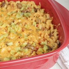 Skinny Cheeseburger Casserole | Skinny Mom | Where Moms Get The Skinny On Healthy Living