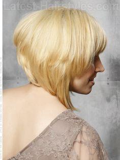 Medium Honey Blonde Style Side View