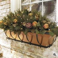christmas window box idea for mom