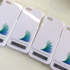 Library barcode iPhone cases!