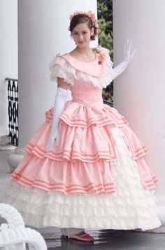 Update Log Frilly Dresses, Lovely Dresses, Prom Dresses, Pink Gowns, Lolita Fashion, Girl Fashion, Southern Belle Dress, Dream Dress, Girly Girl