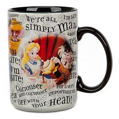 Disney Coffee Mug - Alice in Wonderland - Simply Mad