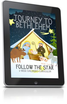 Free 4 week curriculum about Christmas. Download for free.