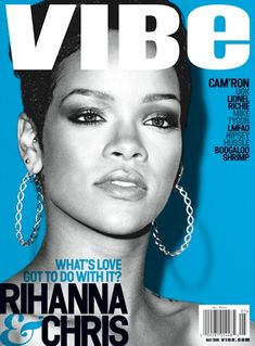 Vibe magazine cover, issue May/2008 | Magazine Cover: Graphic Design, Typography, Photography |