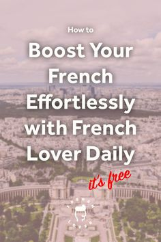 Learn French vocabulary on social media with French Lover Daily. French Language Lessons, French Language Learning, French Lessons, Spanish Lessons, How To Speak French, Learn French, French Tenses, French Movies, French Stuff