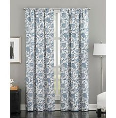 rod pocket curtains, drapes, dotted swiss curtains - country