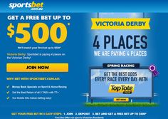 http://www.freebetdeal.com.au - sportsbet free bet Have a look at our website. https://www.facebook.com/bestfiver/posts/1429624257250545