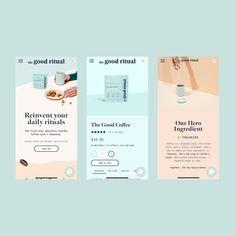 Email Design Inspiration, Website Design Inspiration, Mobile Design, App Design, Packaging Design, Branding Design, Luxury Packaging, Website Design Layout, Layout Design