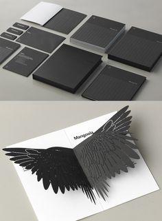 visual identity | Mangoola Branding by End of Work | #identity #papercraft #design #branding