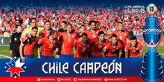 """Copa América 2015 en Twitter: """"¡Felicitaciones #Chile! Campeón de América por primera vez en la historia #Chile2015"""