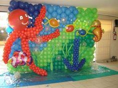 baloon decoration, indonesia