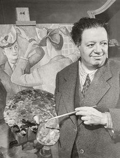 Diego Rivera, photographed by Edward Clark