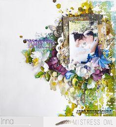 Inna Bronnikova: Вторая страничка для свадебного альбома