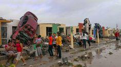 SEMANARIO BALUN CANAN: Terrorífico tornado azota Ciudad Acuña