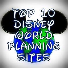 Top Ten Disney World Planning Sites