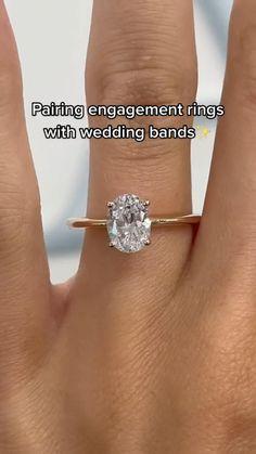 Beautiful Wedding Rings, Small Wedding Rings, Wedding Bands, Dream Wedding, Cute Engagement Rings, Pretty Rings, Dream Ring, Or Rose, Diamond Rings