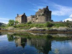 Eilean Donan Eilean Donan, Scottish Highlands, Scotland, Mansions, Cathedrals, Towers, House Styles, Places, Brave