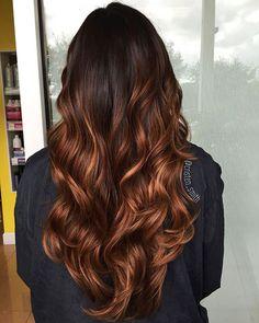 23 Balayage long curly hair color # Nice Women's Hair Styles 23 Balayage long … Brown Ombre Hair, Ombre Hair Color, Hair Color Balayage, Weave Hair Color, Ombre Weave, Haircolor, Colored Curly Hair, Long Curly Hair, Curly Hair Styles