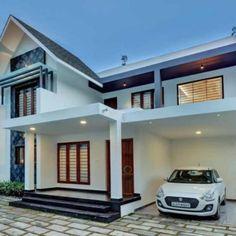 #CostEffective #FusionStyle #Homestyle പാലുകാച്ചൽ ദിവസം ആ കാഴ്ച കണ്ട് ഞങ്ങളുടെ കണ്ണുനിറഞ്ഞു! പക്ഷേ ഒരു ട്വിസ്റ്റുണ്ട്... Indian House Plans, Kerala House Design, Kerala Houses, Indian Homes, Home Room Design, House Rooms, Room Decor, Mansions, House Styles