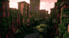 Image result for low poly apocalypse town
