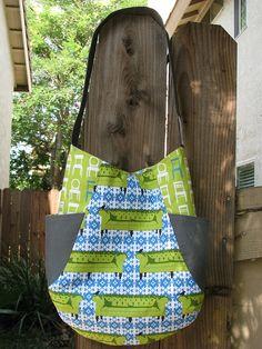 241 bag ~ pattern by Noodlehead