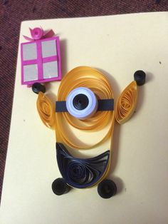 Quilling minion