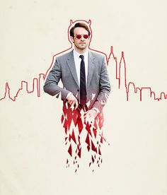 "Daredevil. ""Then why did he put the Devil in me? Why do I feel it in my heart and my soul, clawing to be let out, if that's not all part of God's plan?"""
