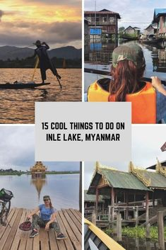 Things to do in Inle lake, #myanmar . Perfect itinerary, attractions and experiences to try on Inle lake.  -----------------------------  #myanmartravel #traveldestinations