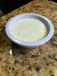 Niki Cooks for Interstitial Cystitis: Buttermilk Basil Salad Dressing