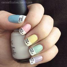 Pantone Nails.