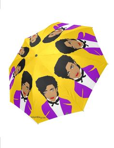 PRINCE the artist formerly known as or GOLDEN girls or Amy SCHUMER umbrella... original illustration