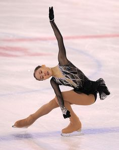 So Hyun An of Korea performs during the junior ladies short program of the ISU Junior Grand Prix of Figure Skating Logrono on October 1 2015 in...