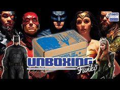 """Funko Pop Wave!: Unboxing de la caja Legion of Collectors """"Justice ..."""