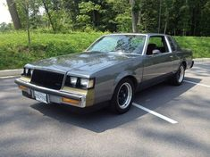 Buick Grand National Interior Muscle Cars 5