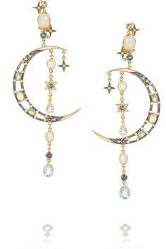 Percossi Papi's crescent moon earrings